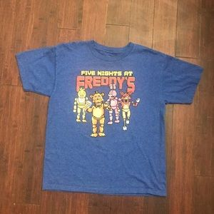 Five nights at Freddie's boys t-shirt